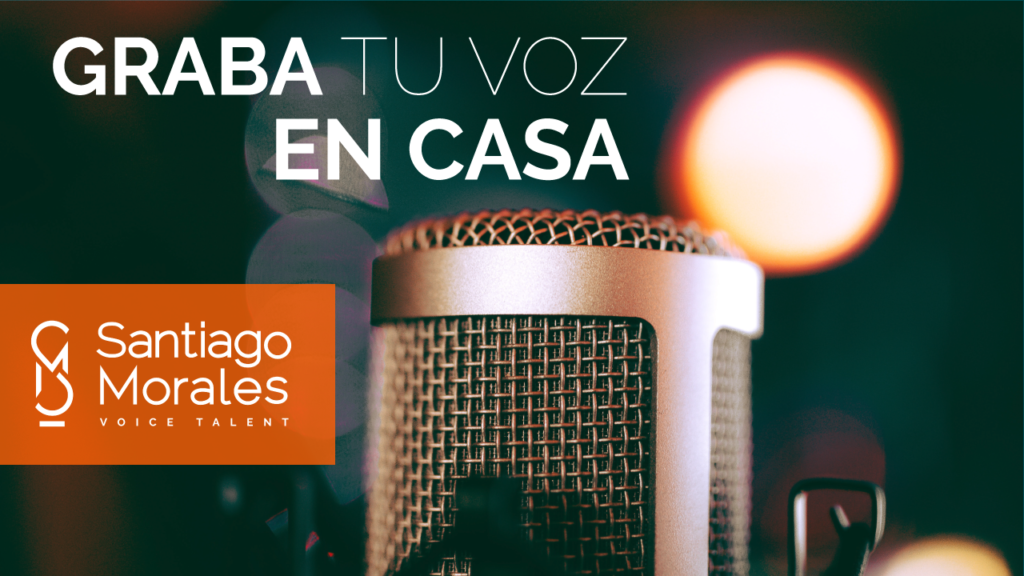 Graba en casa tu podcast con Santiago Morales